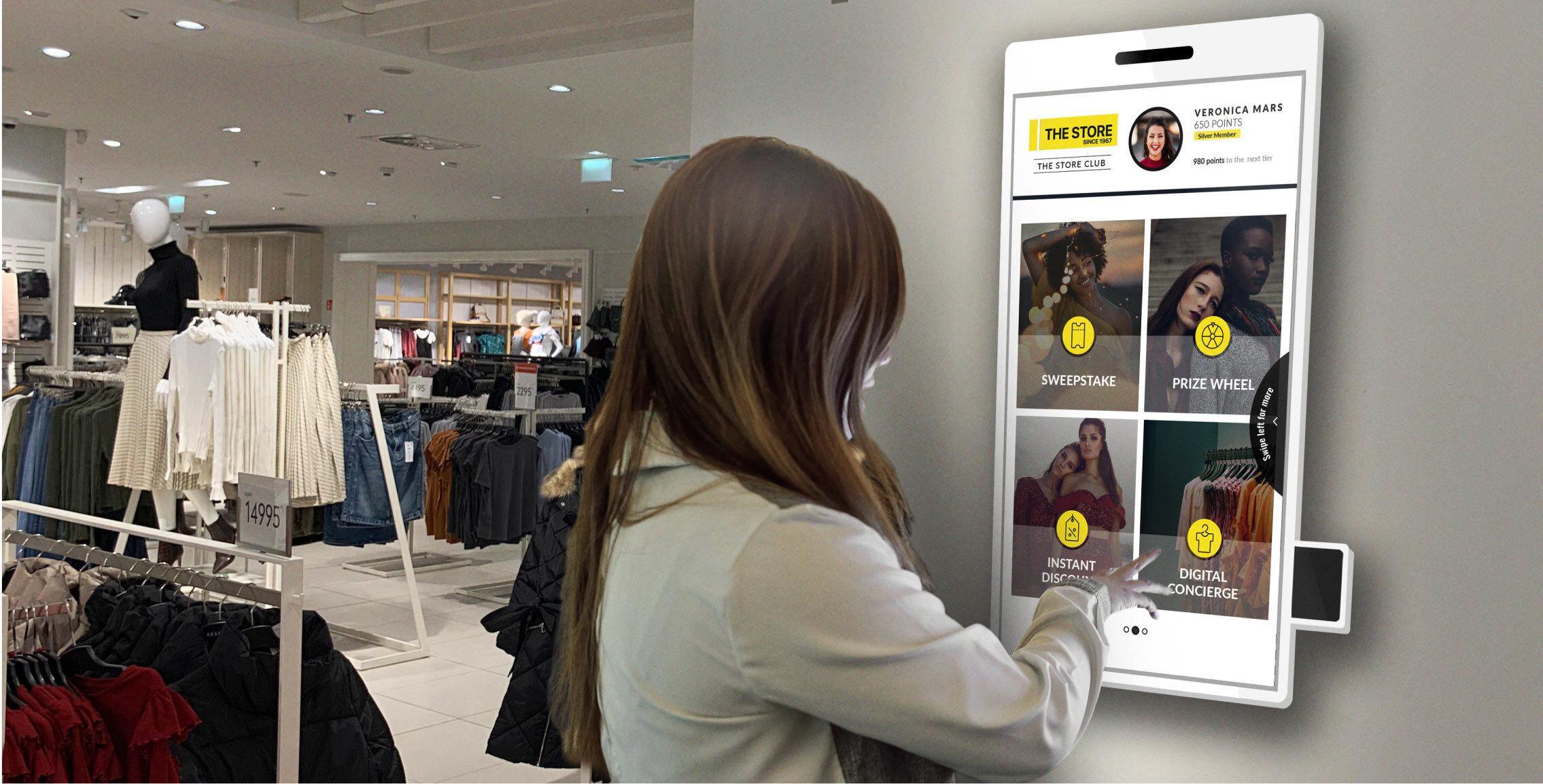 Horizon 2020 SME Instrument In-store Experience Terminal.