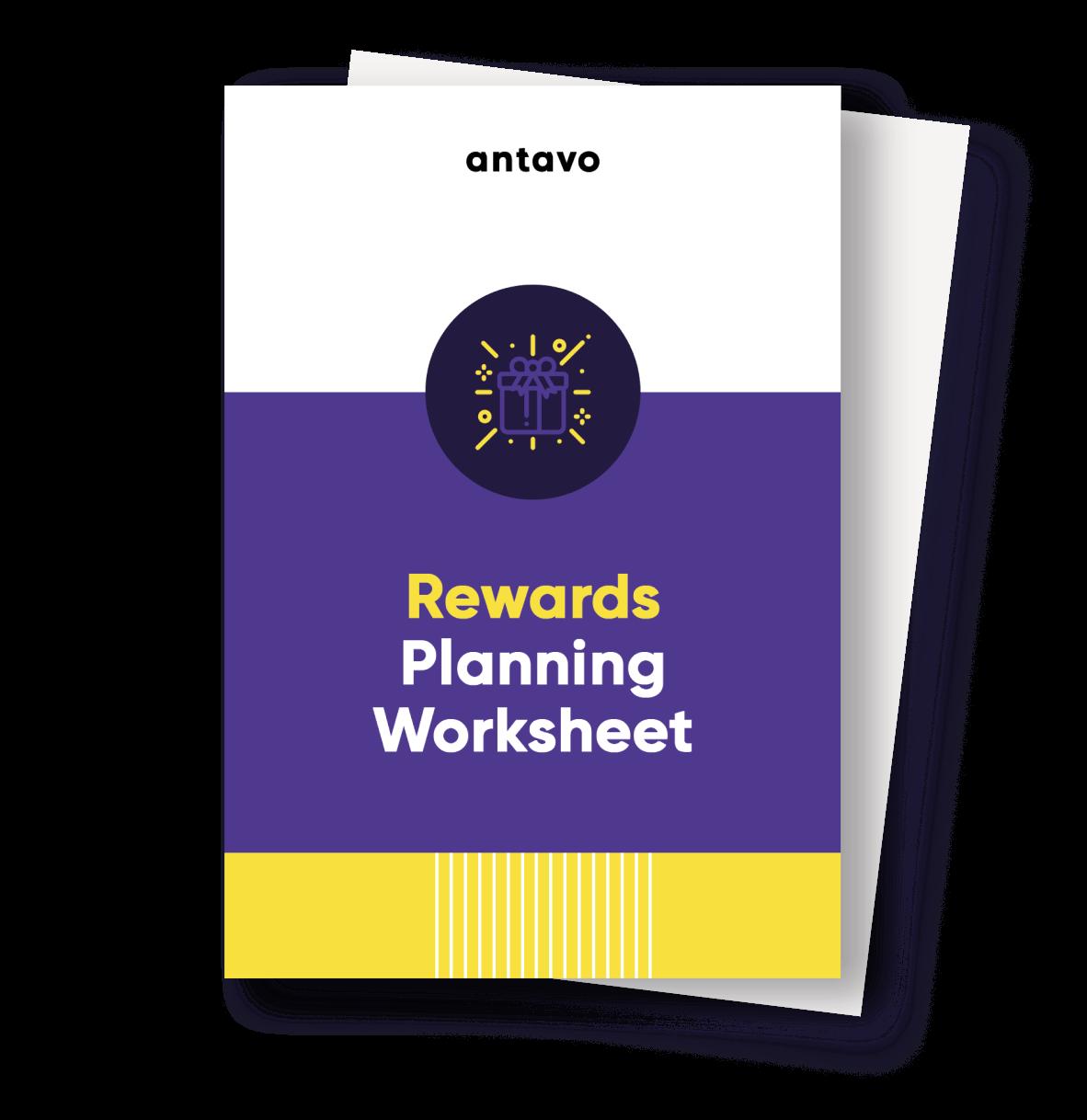 Antavo's Ebook: Rewards Planning Worksheet
