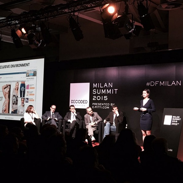 Zsuzsa is presenting on Decoded Fashion in Milan.