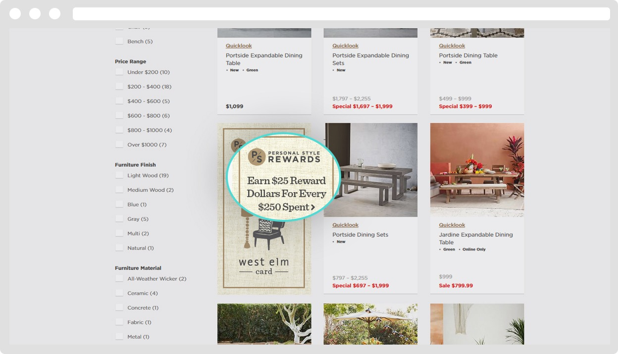 westelm products