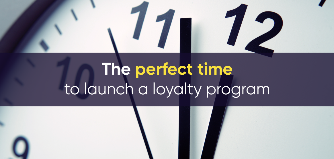 The cover image of Antavo's article on when is the right time to launch a loyalty program
