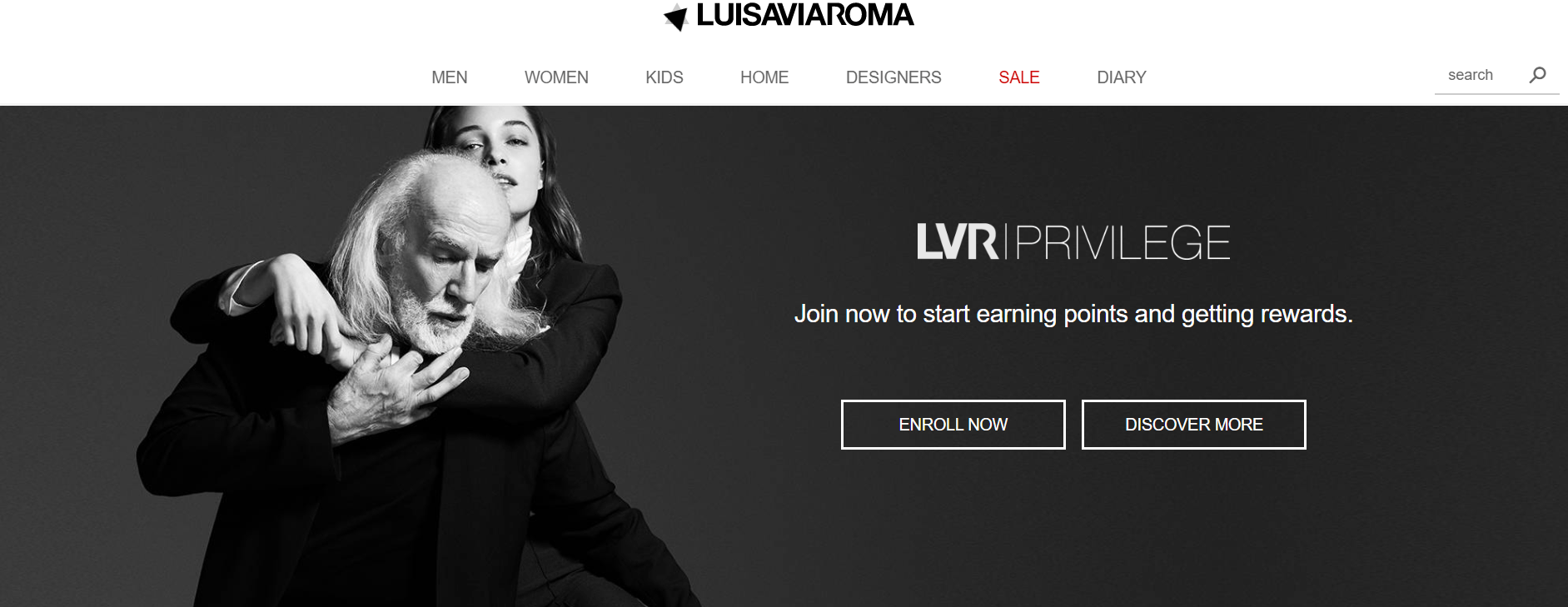 LuisaViaRoma Fashion Loyalty Program