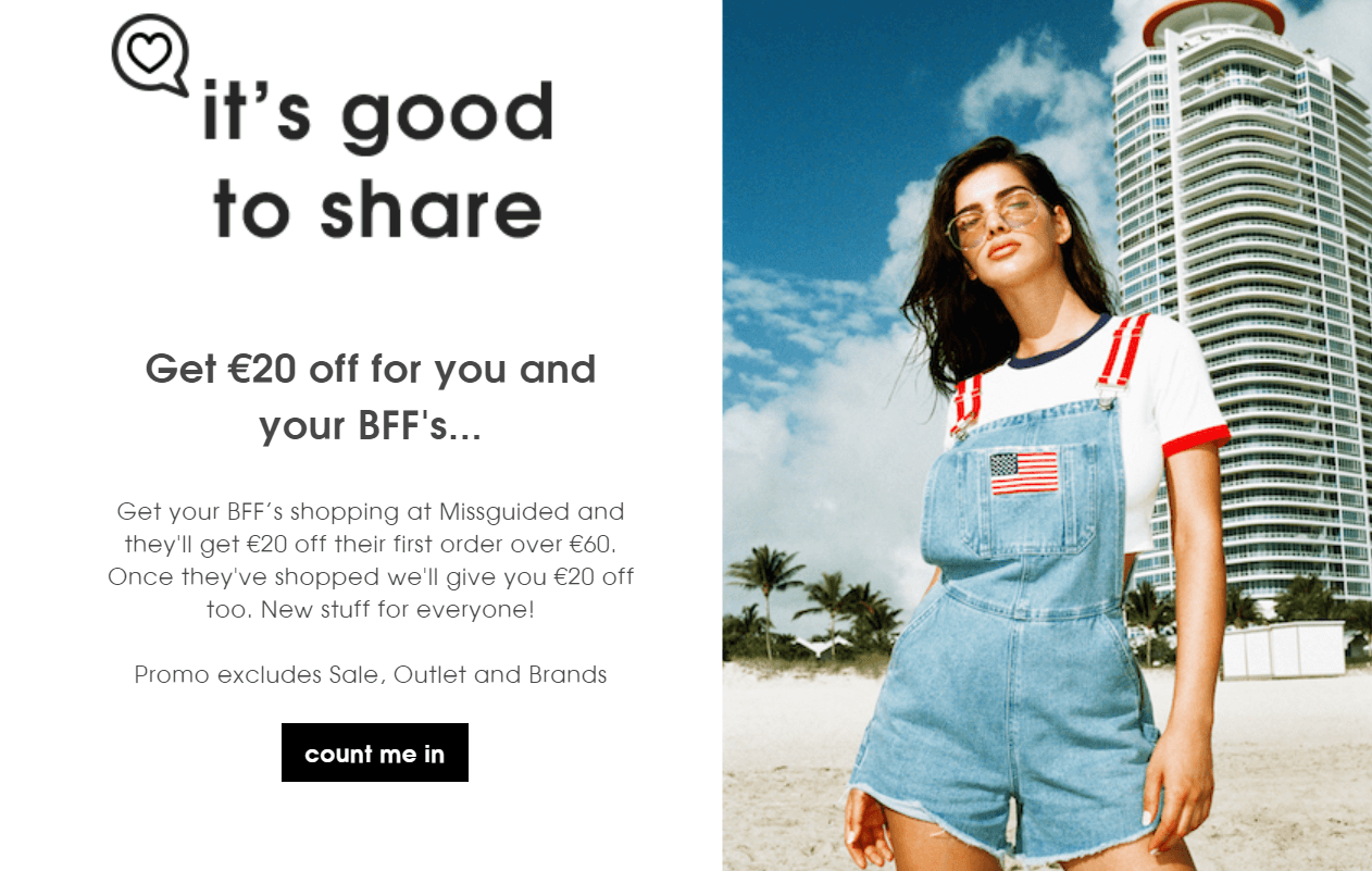 Missguided Fashion Loyalty Program