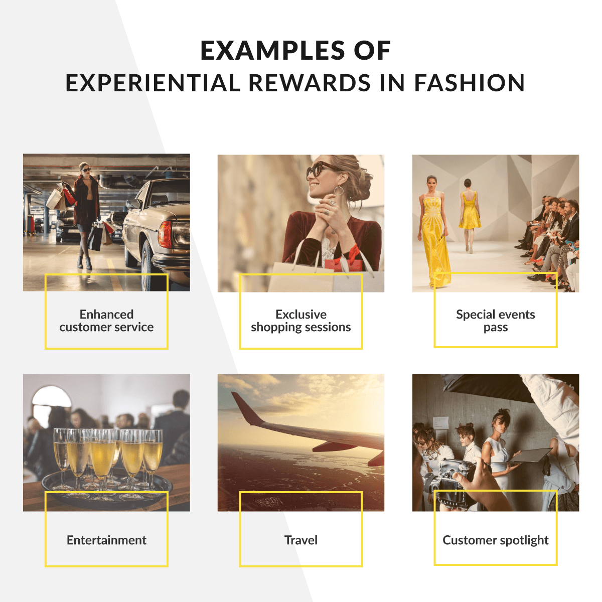 experiential rewards in fashion