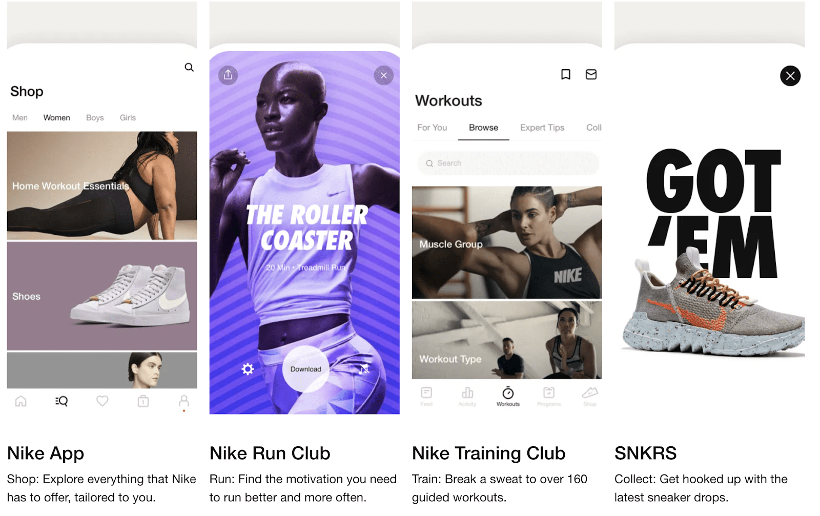 Nike's loyalty program is a great example of how partner benefits and cross-brand promotions can elevate the loyalty concept.