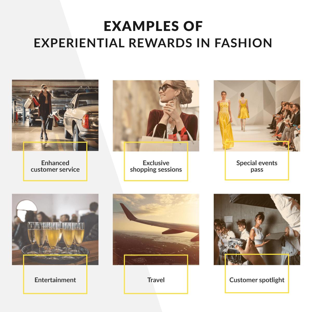 Experiential reward ideas for exclusive loyalty programs