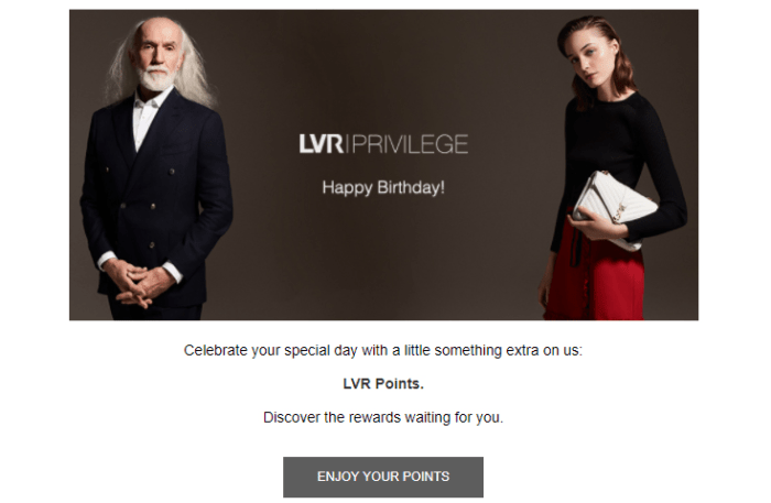 LVR case study email campaign