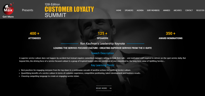 Customer loyalty conference Mumbai