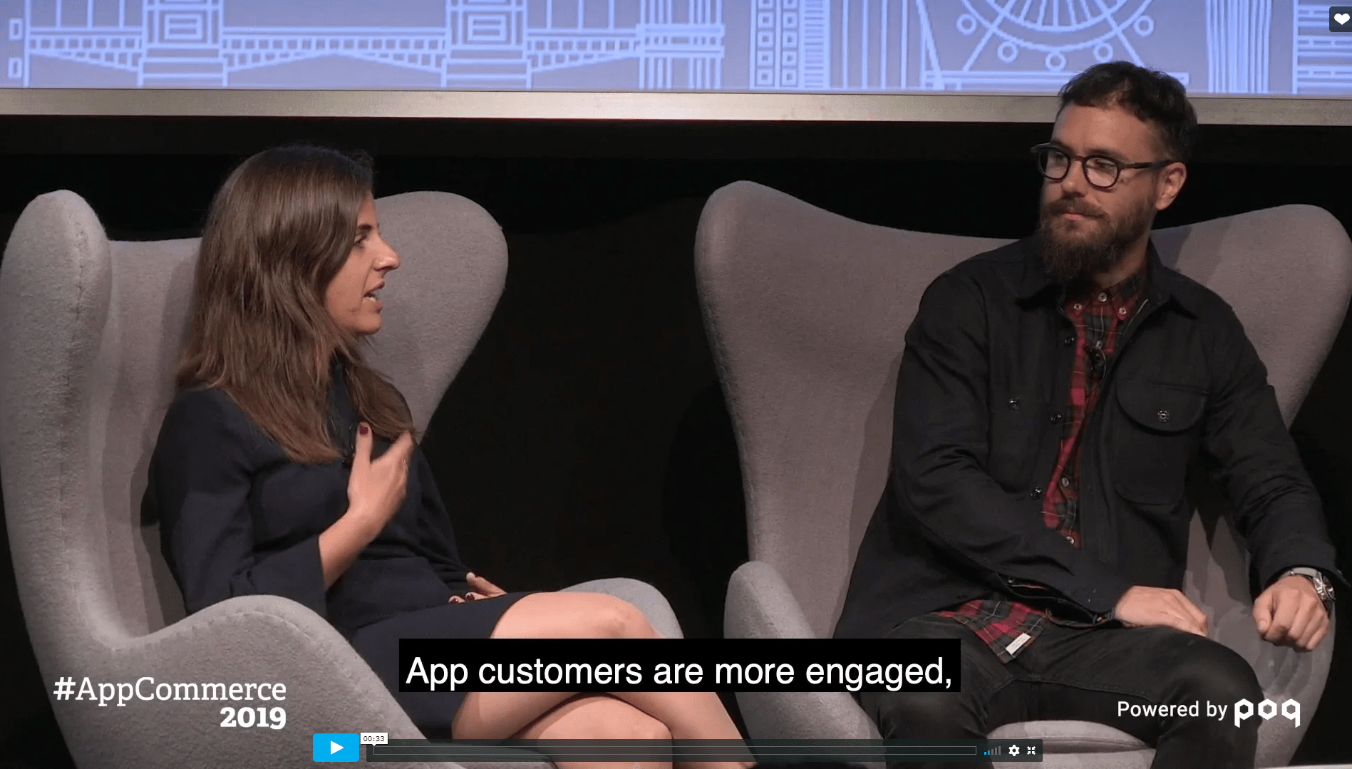 To hear more abong apps to grow customer loyalty check out the loyalty panel discussion, Maximise your app: The channel for loyalty, from Poq's annual event #AppCommerce 2019. You will hear from the likes of Zalando, Quiz Clothing, and Neal's Yard Remedies.