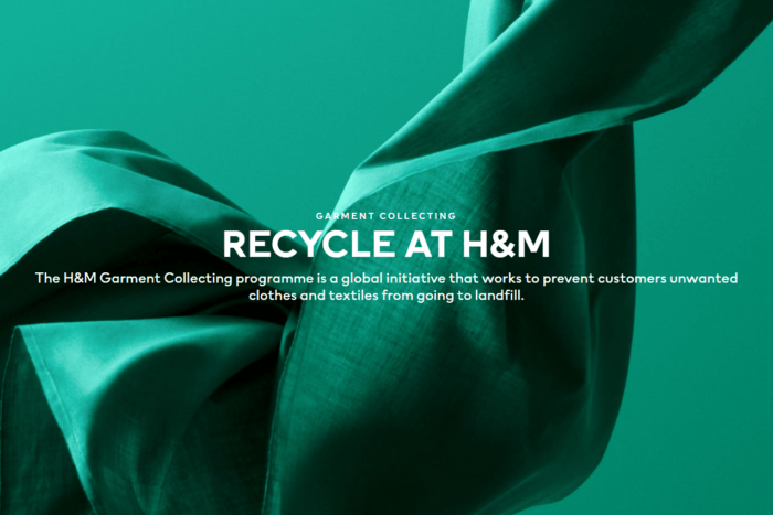 Rewear, reuse, recycle - these are the slogans of H&M's garment collection program, which offers customers a $5 voucher for returning their old clothes. The textiles are either reused or donated, but do not end up in a landfill.