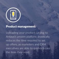 Wide management options.