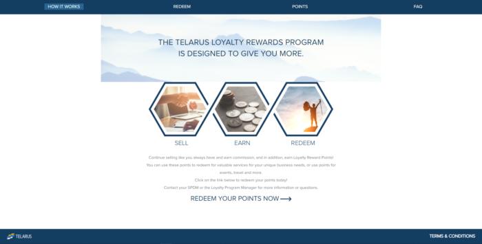 Telarus telecommunication program