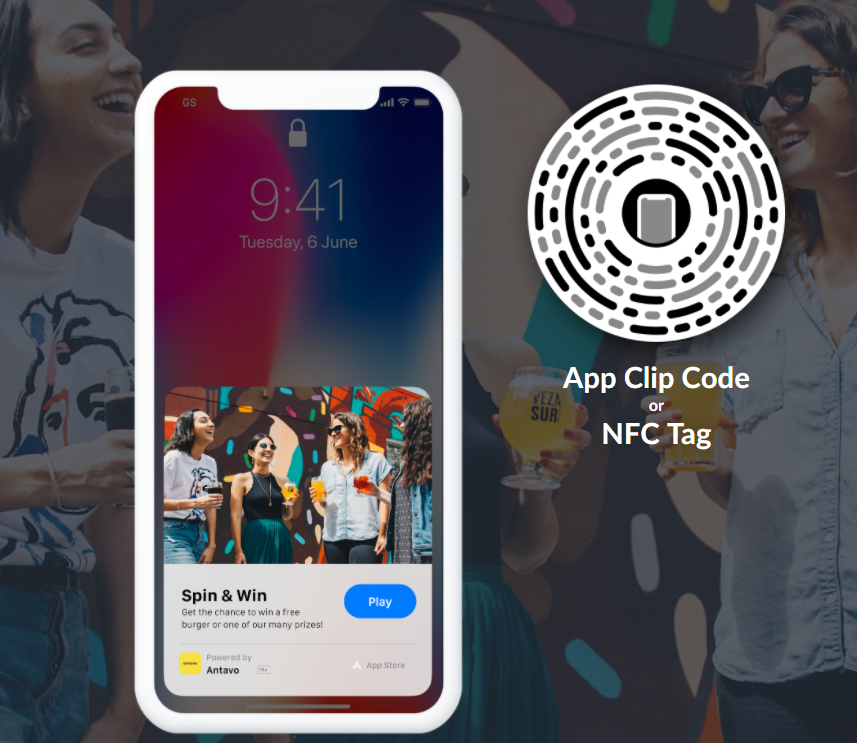 App Clips, the loyalty app gives participants a little taste of the full experience without a commitment.