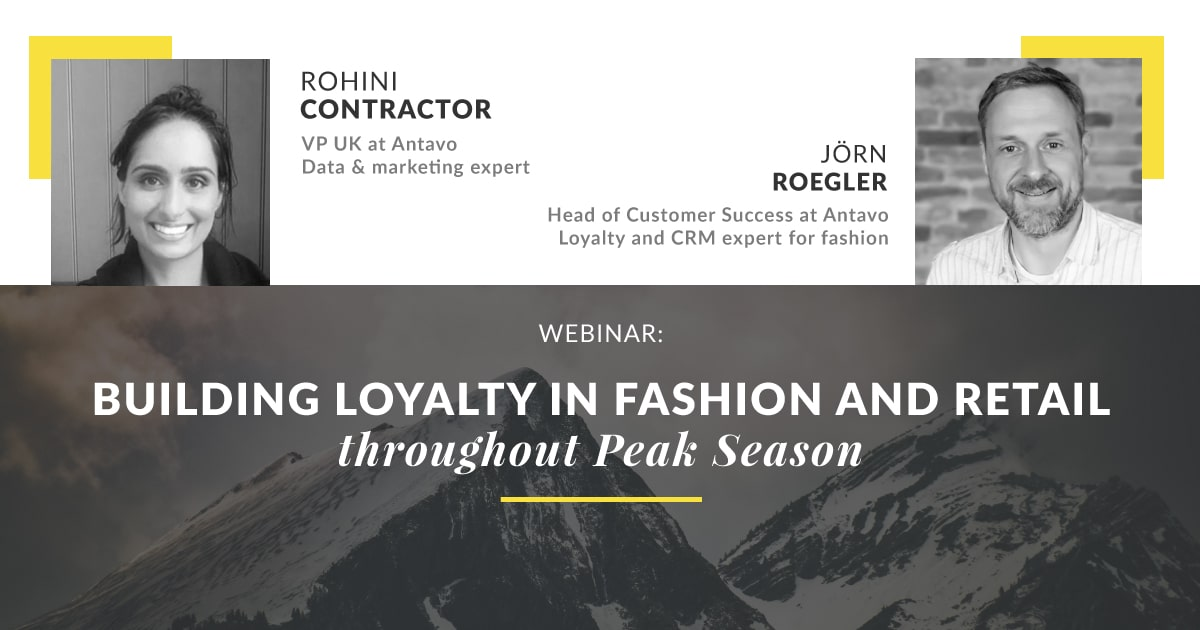 Building Loyalty in Fashion and Retail throughout peak season