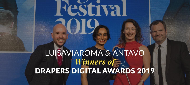 LuisaViaRoma & Antavo Wins Drapers Award for Customer Engagement