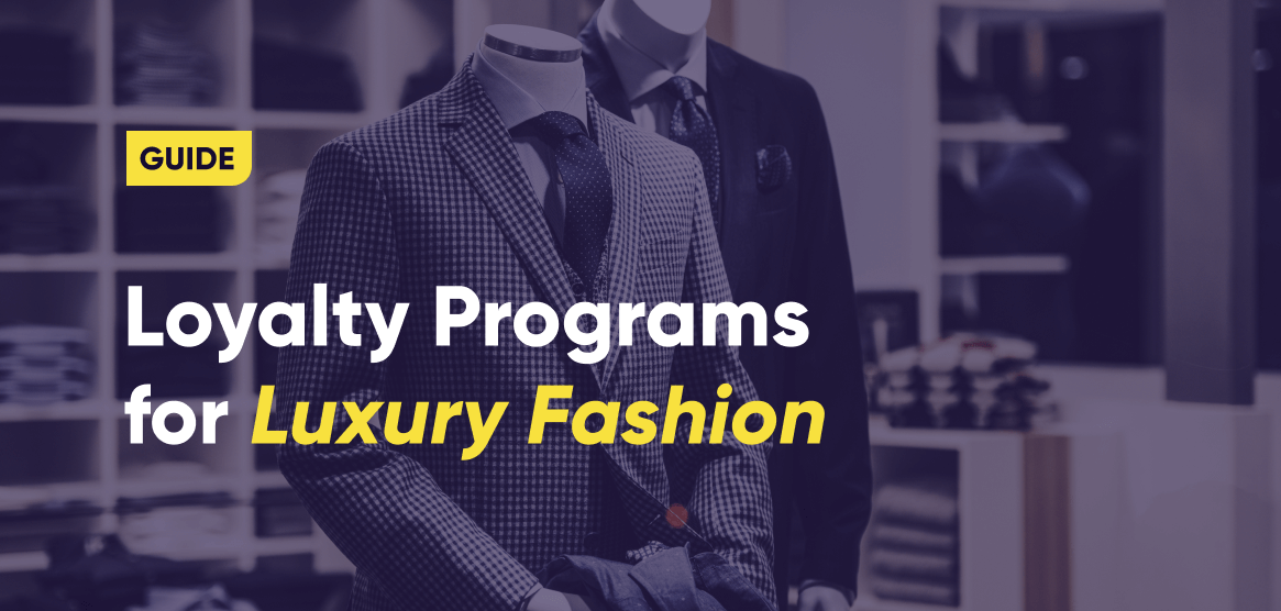 The cover image of Antavo's Luxury Fashion Loyalty Programs Guide