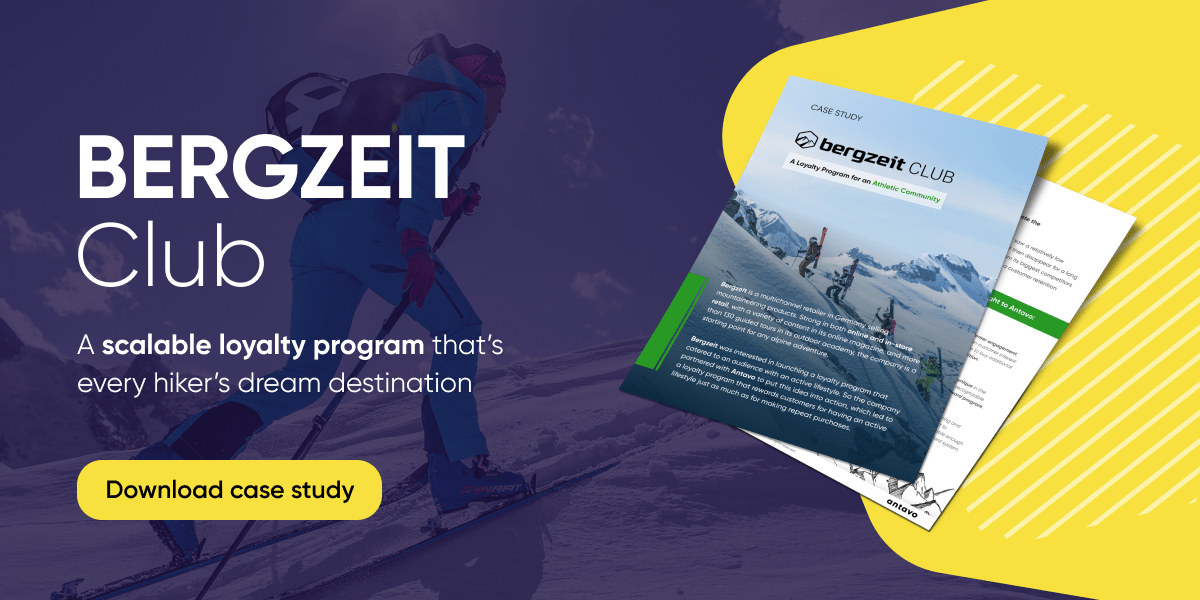 Bergzeit Loyalty Program: a Reward Program for Athletic-Minded Customers