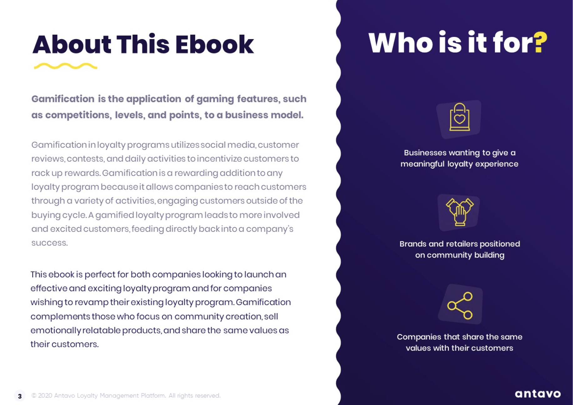 Take a look inside Antavo's Ebook: Best Practices for Gamification in Loyalty Programs.