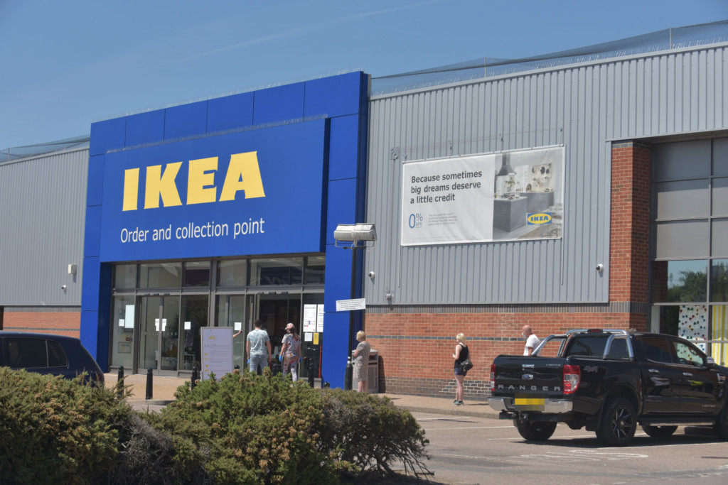 The IKEA click and collect service is available in a lot of stores, where all products can be picked up for free if the order value is high enough. Image Source: EveningNews24
