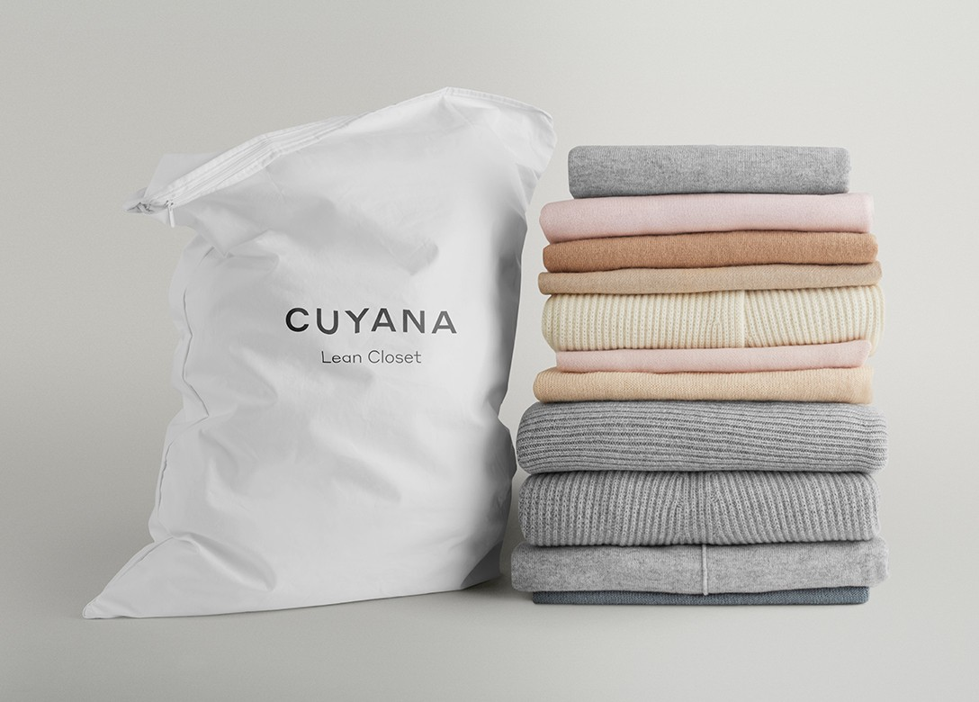 Cuyana's customers need to feel a box with high-quality apparel and accessories that they no longer need.