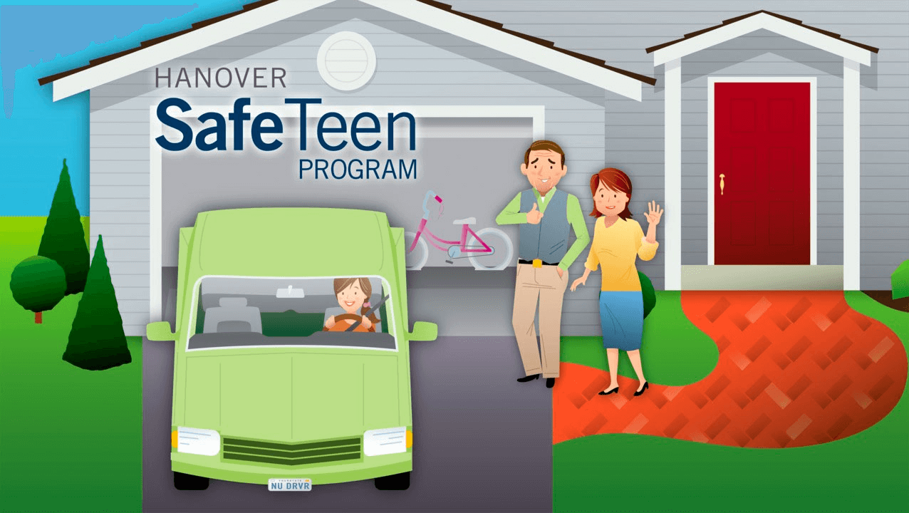 Hanover launched its SafeTeen driving program to educate new teen drivers.