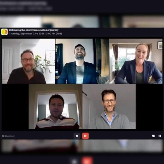 Fantastic content and vibe are what characterized our webinar yesterday. We talked about how to optimise the e-Commerce journey together with experts from @freshrelevance @feefo_official, @odicci_interactive and @mapp_digital  Stay tuned for the recording.📹💡  *  #Antavo #webinar #event #eCommerce #customerjourney #customerexperience #loyaltyprogram #personalization #engagement #relevantcommunication #rewards #reviews